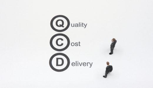 QCDとは何か?QCD向上による企業成長の考え方