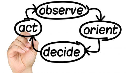 OODAループとは?PDCAサイクルとの違いと使い方を解説します